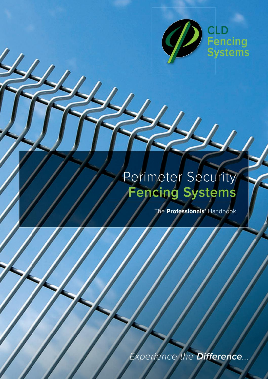 Perimeter Security Fencing Systems By Cld Fencing Systems