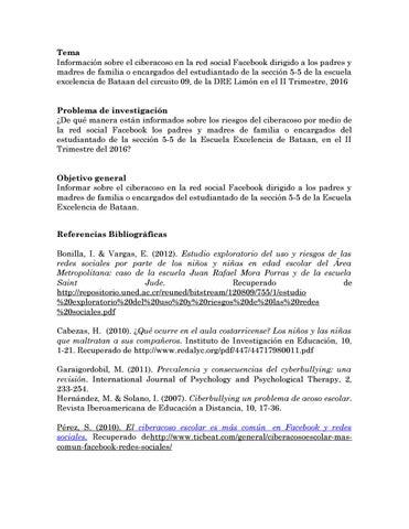 Investigación De Daniela Y Evelyne By Uned Revista Digital