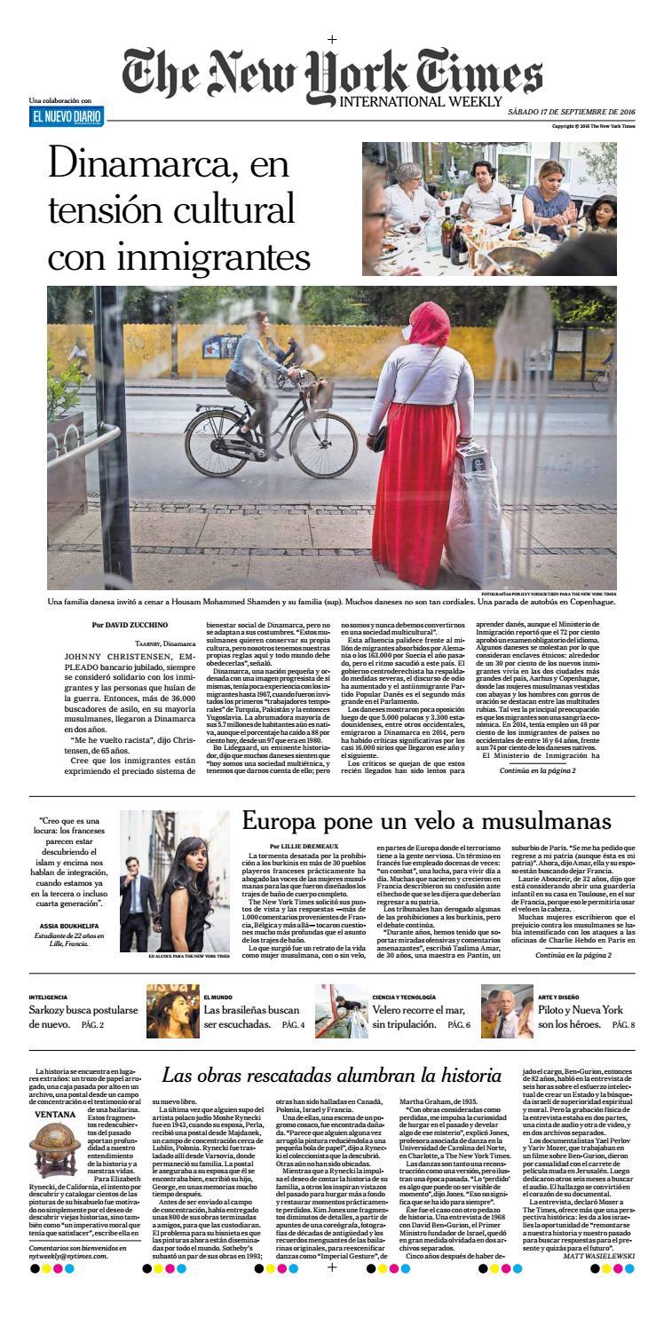Dinamarca, en tensión cultural con inmigrantes by El Nuevo Diario ...