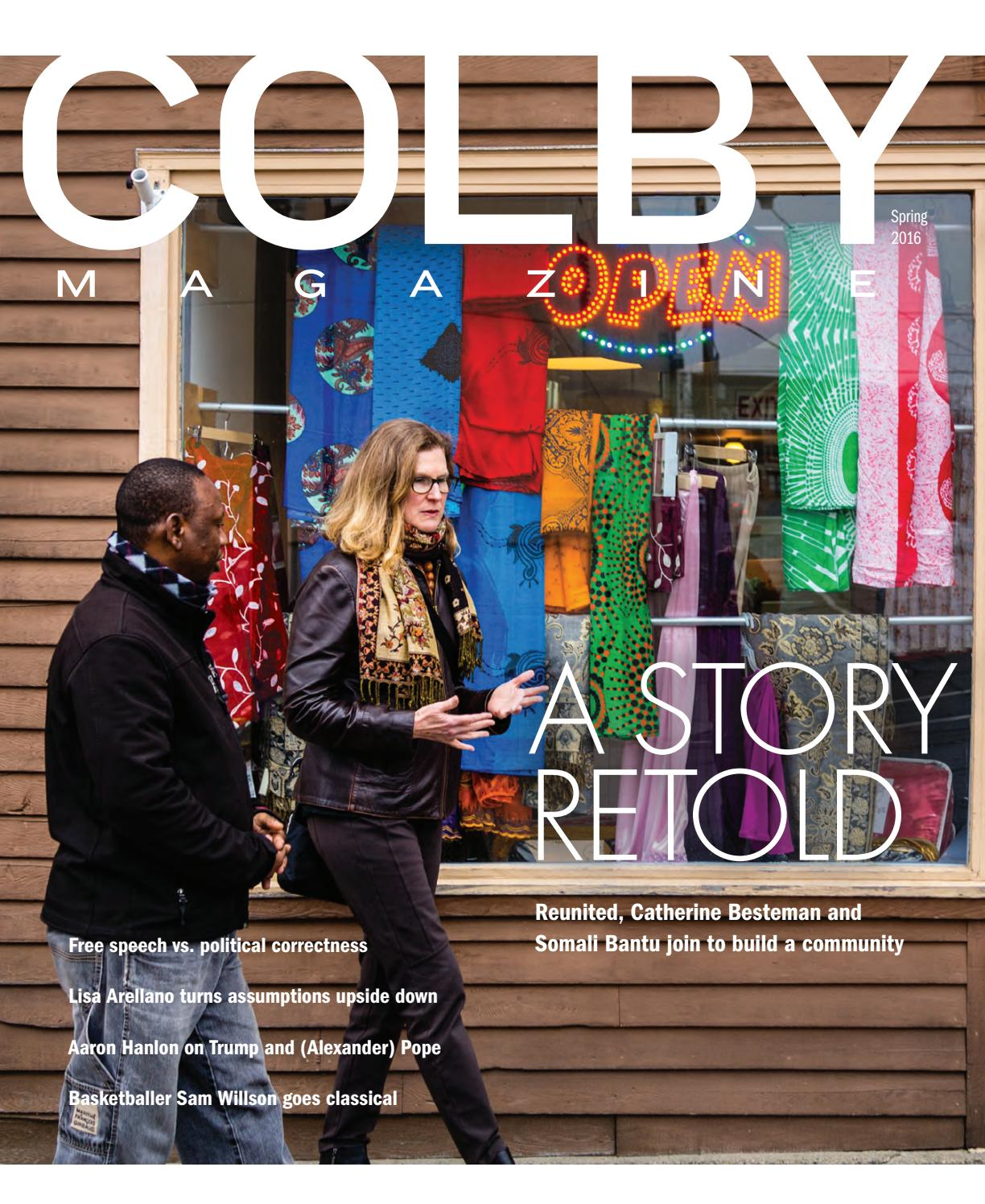 Colby Magazine vol  104, no  3 by Colby College Libraries
