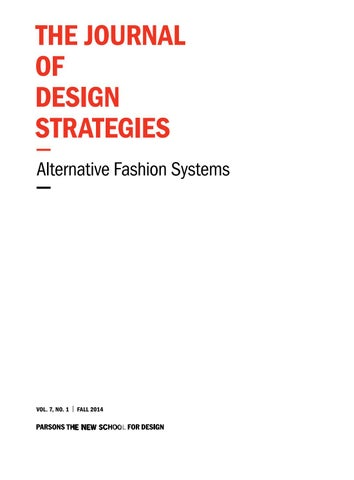 The Journal of Design Strategies Volume 7 by The Journal of Design ... a49d9ef9c3649