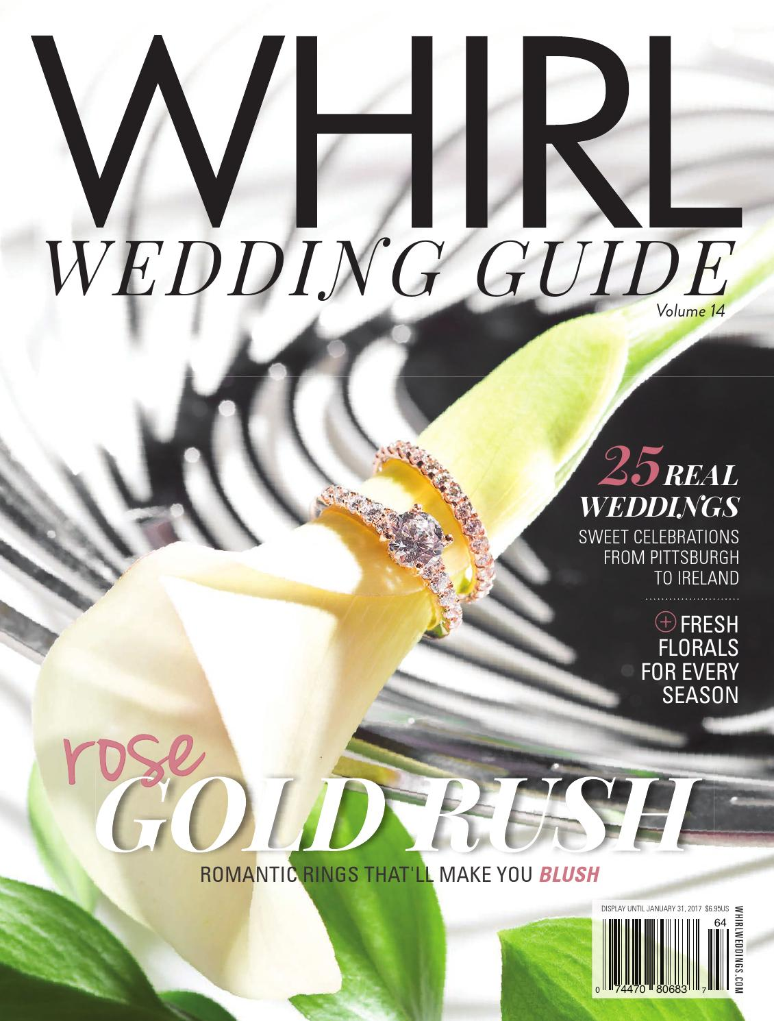 WHIRL Wedding Guide: Fall/Winter 2016 by WHIRL Publishing - issuu