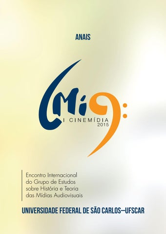 Cinemídia - Anais 2015 by Gelson Pereira - issuu f069780bf7a96