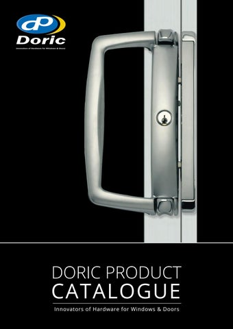 DORIC PRODUCT  sc 1 st  Issuu & Doric Catalogue 2016 by Alchin Long Group - issuu