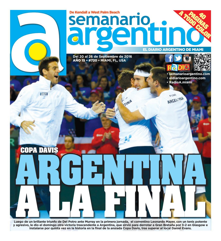 ade2bdb51a Semanario 720 by Semanario Argentino - issuu