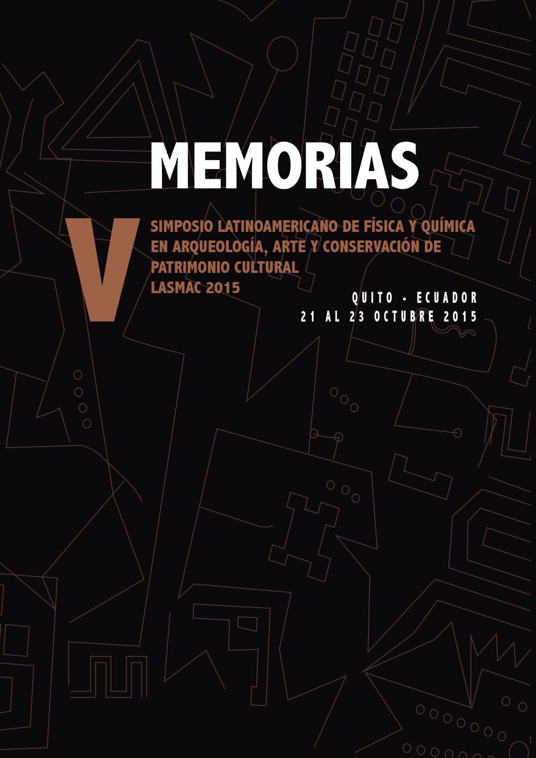 Memorias Lasmac 2015 by Quito Lasmac - issuu