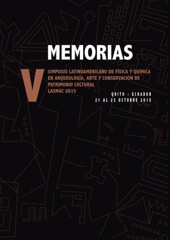 Memorias Lasmac 2015 By Quito Lasmac Issuu
