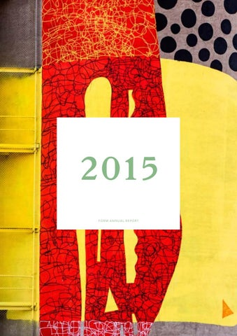 36ce5d8ba9eda FORM 2015 Annual Report by FORM WA - issuu
