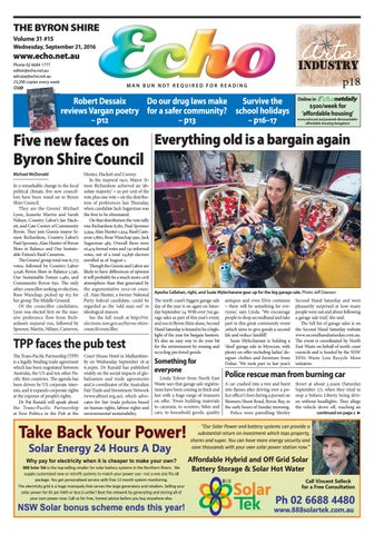 4c6e8d398e5c Byron Shire Echo – Issue 31.15 – 21 09 2016 by Echo Publications - issuu