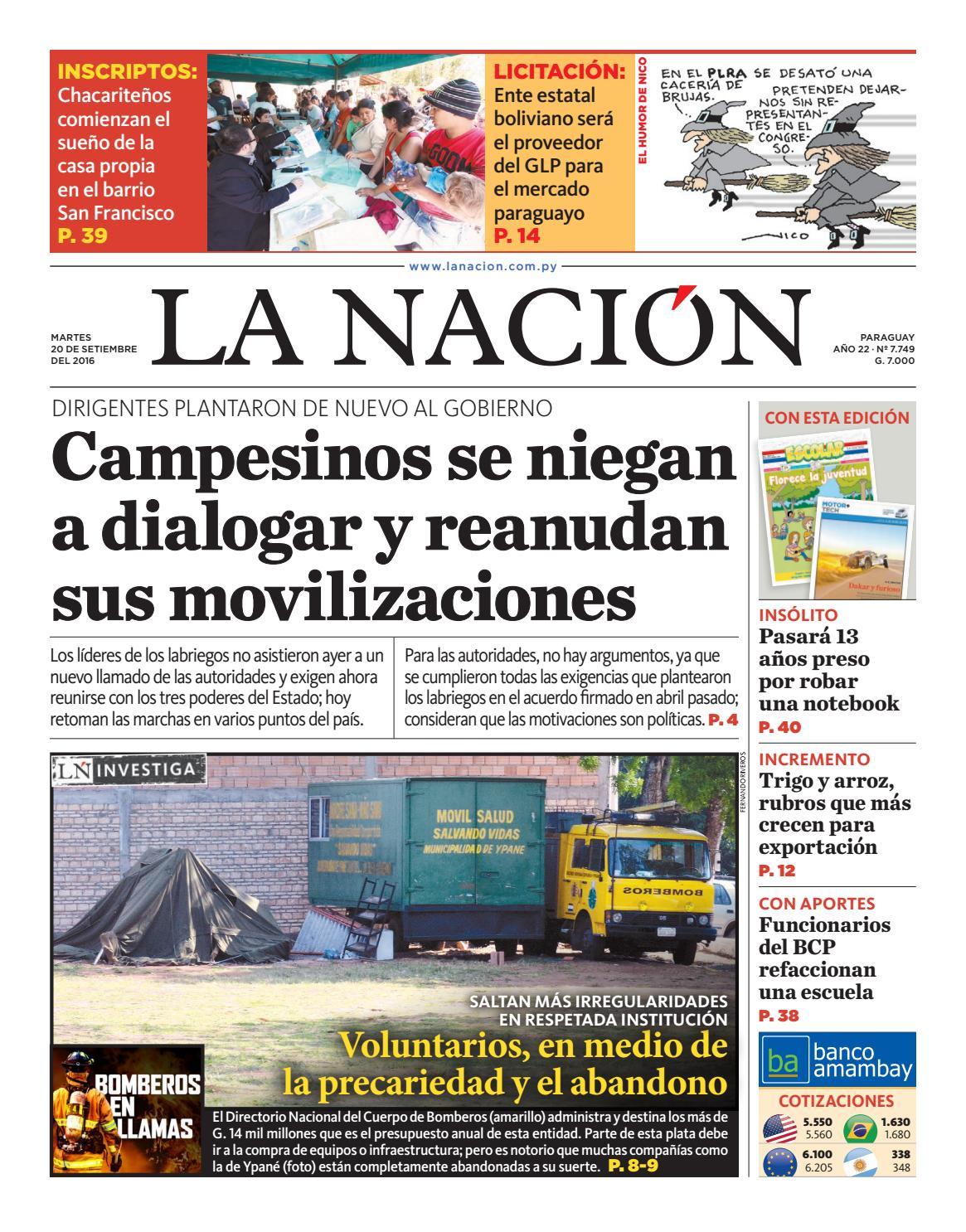 DIARIO LA NACIÓN EDICIÓN 7.749 by La Nación - issuu