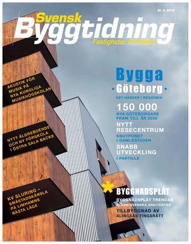 Svensk Byggtidning 4 2016 by Stordåhd Kommunikation AB - issuu 856faf75aae15