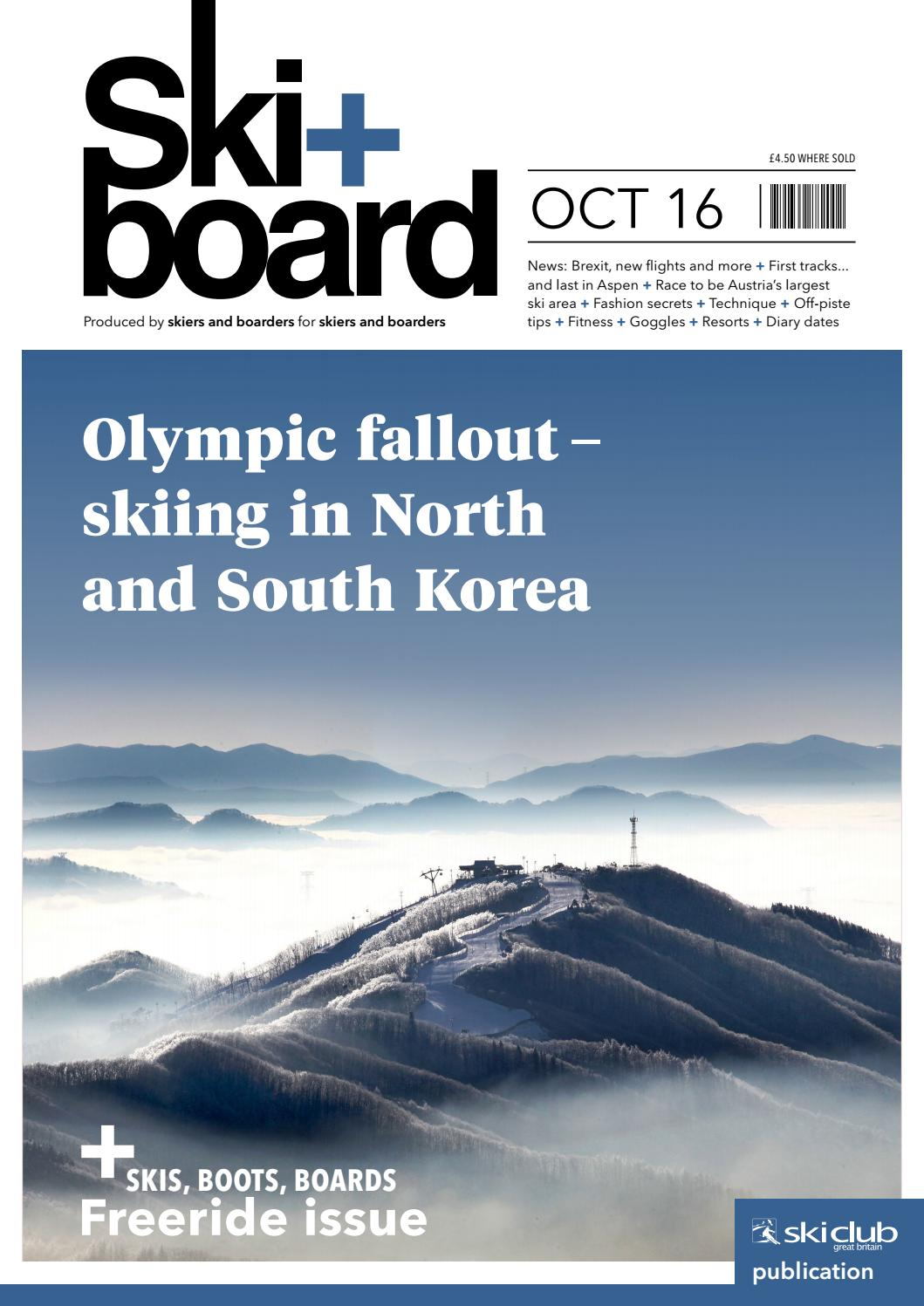 Ski+board October 2016 by Ski Club of Great Britain - issuu