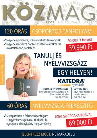 """Cover of """"KÖZMAG Pécs Tanévnyitó Lapszám - 2016. szeptember"""""""