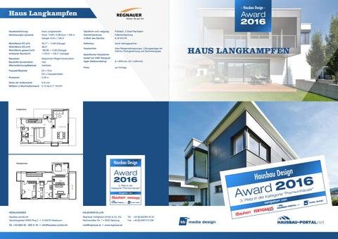 hausbau design award 2016 3 platz f r vitalhaus langkampfen by regnauer hausbau issuu. Black Bedroom Furniture Sets. Home Design Ideas