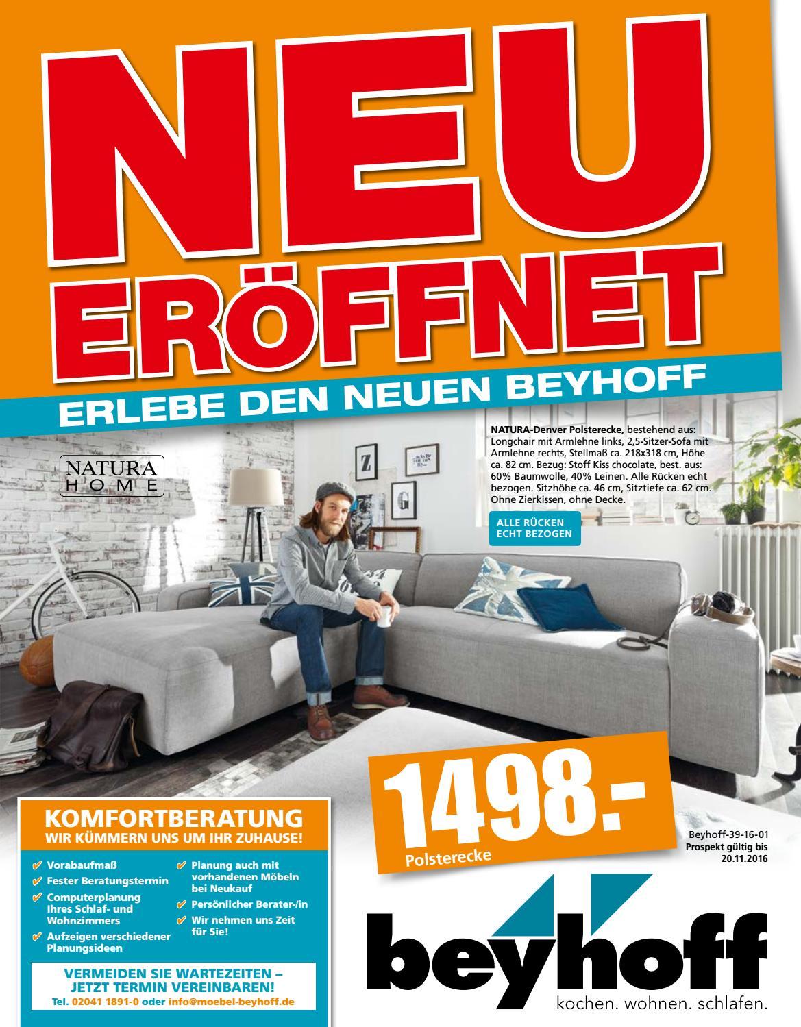 m bel beyhoff angebotsprospekt neu by m bel beyhoff gmbh. Black Bedroom Furniture Sets. Home Design Ideas