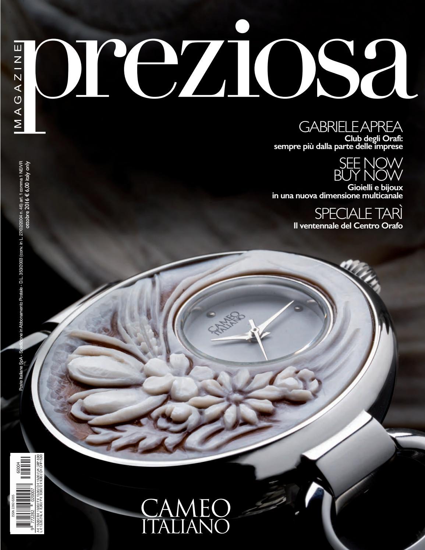 Preziosa Magazine n.4 2016 by GOLDEN AGENCY - issuu 1a6fac4138d