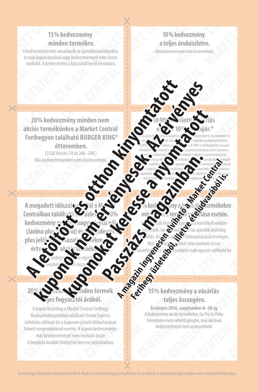 4e257f7bb7 Passzázs Magazin - 2016 ősz by Market Central Passzázs magazin - issuu