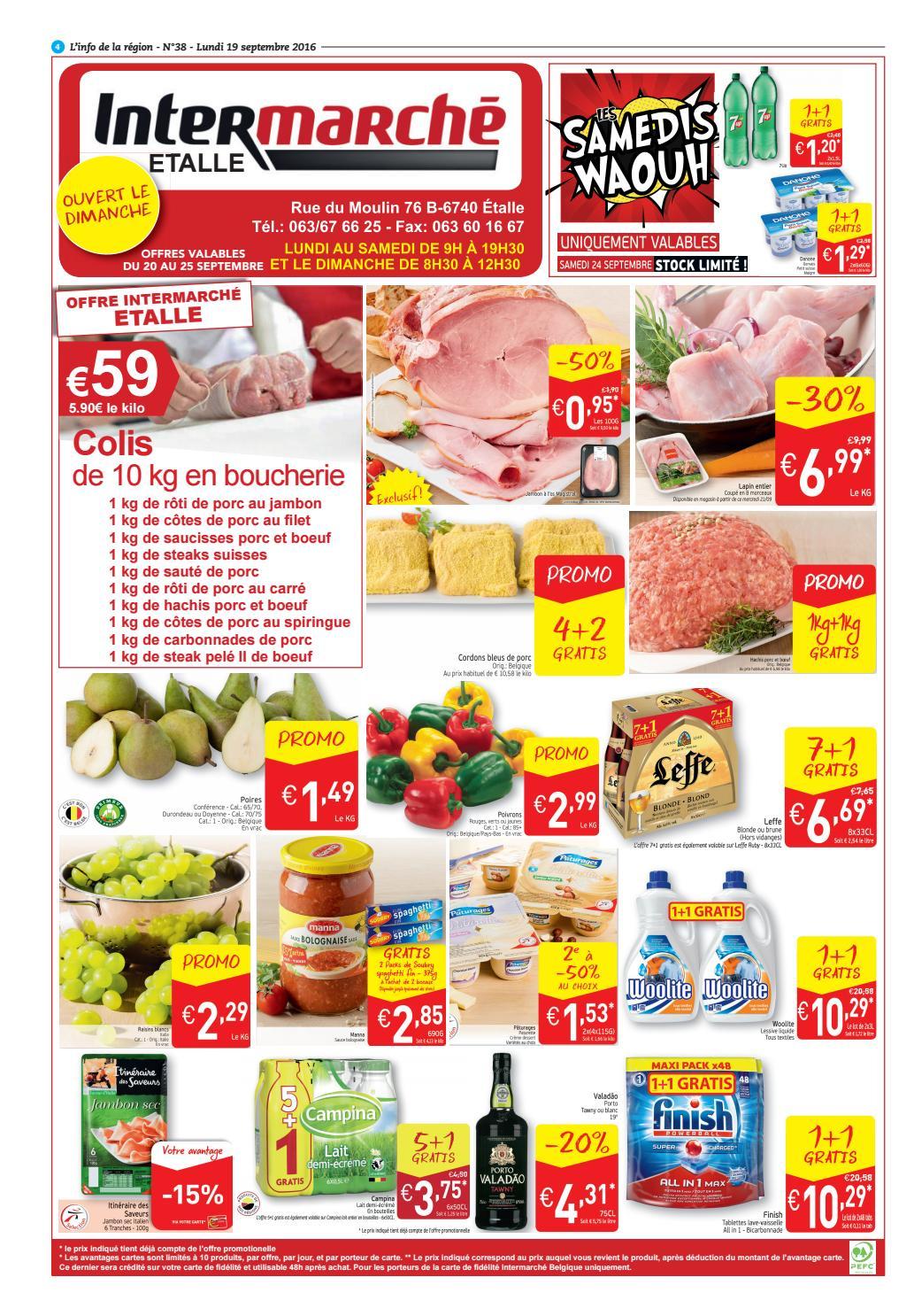 Carte Intermarche Belgique.Info 38 By Inside Issuu
