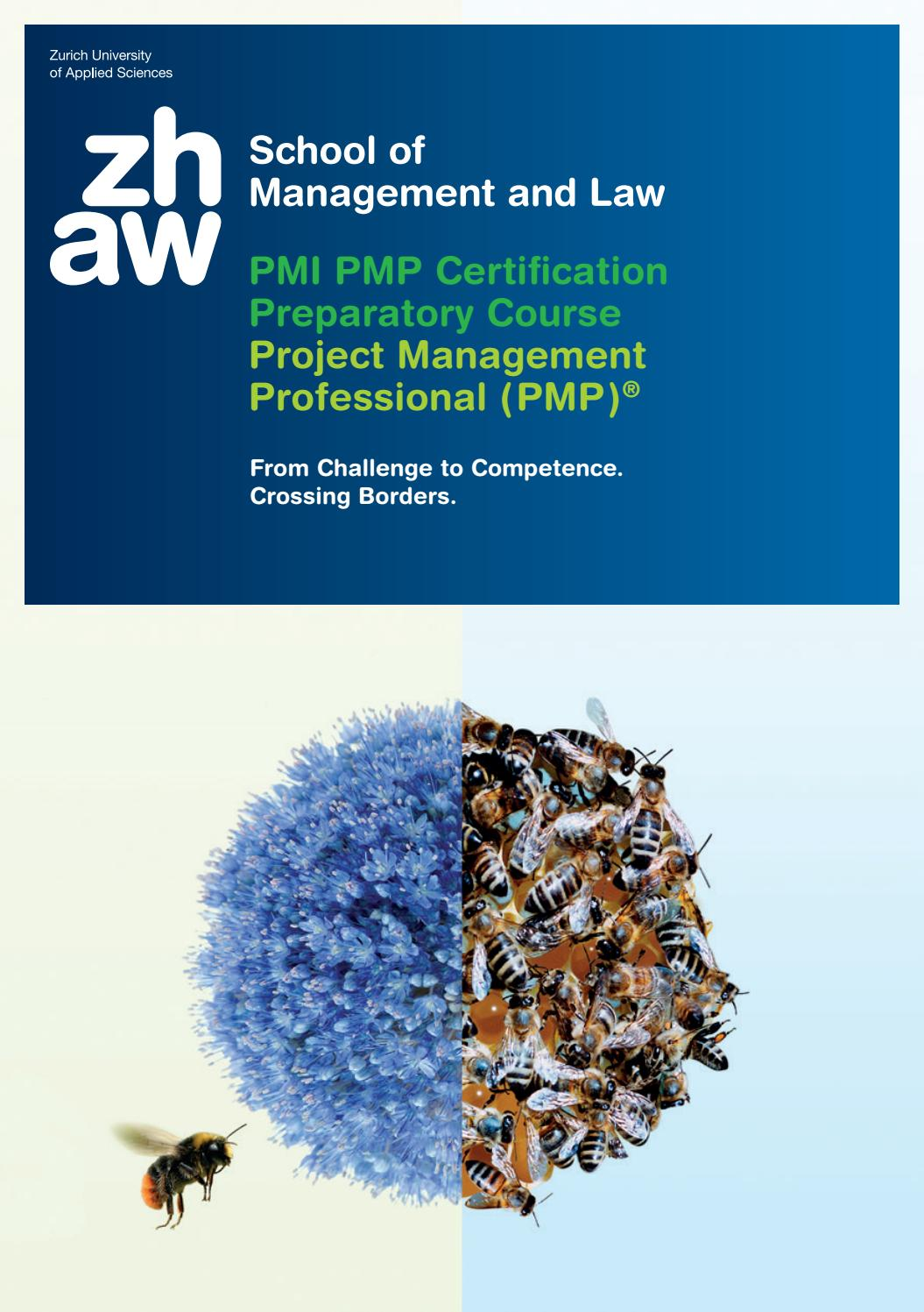 Pmi pmp certification preparatory course by zhaw school of pmi pmp certification preparatory course by zhaw school of management and law issuu 1betcityfo Images