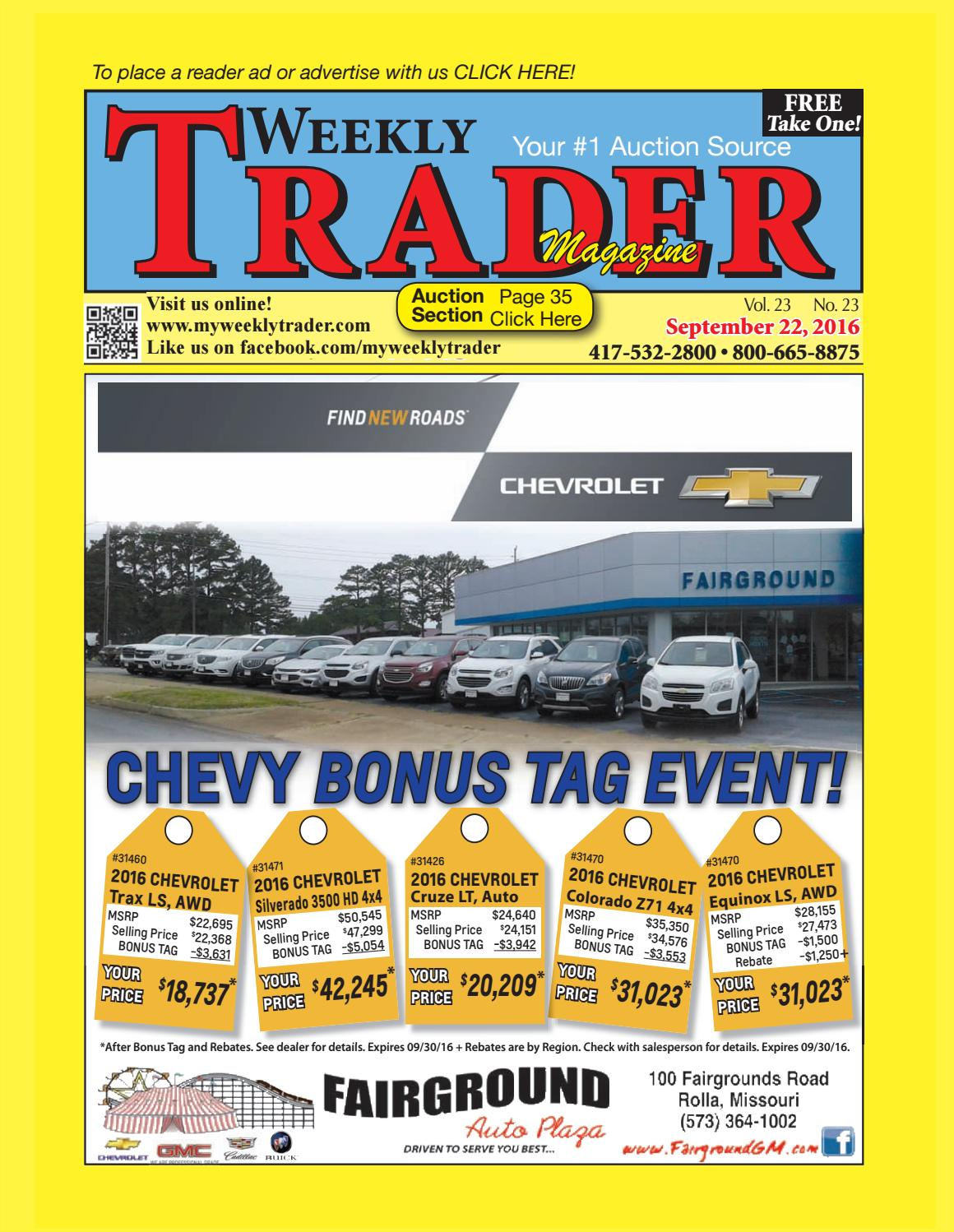low priced f8e80 de7f7 Weekly Trader September 22, 2016 by Weekly Trader - issuu
