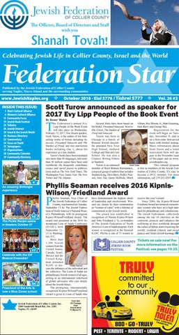 Federation star october 2016 by jewish federation of collier page 1 fandeluxe Gallery