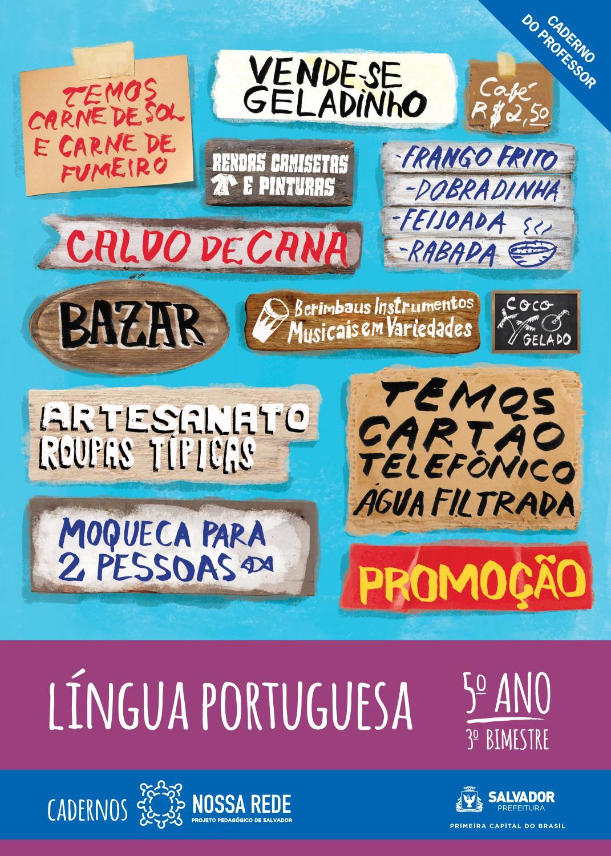 l237ngua portuguesa 5186 ano 3186 bimestre � vers227o