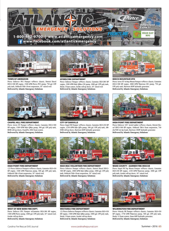 Carolina Fire Rescue EMS Journal