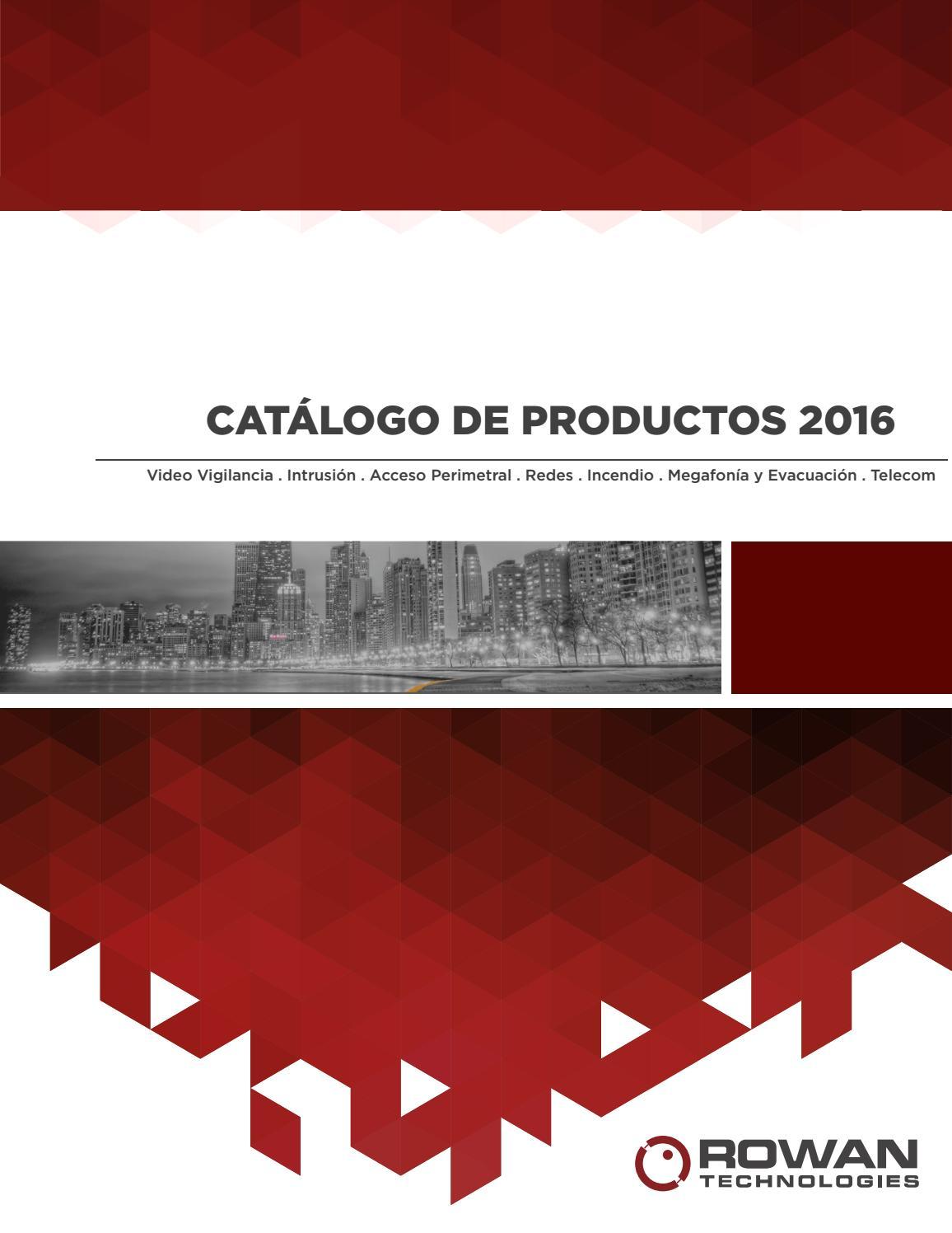 Catálogo General 2016 by RowanTechnologies - issuu