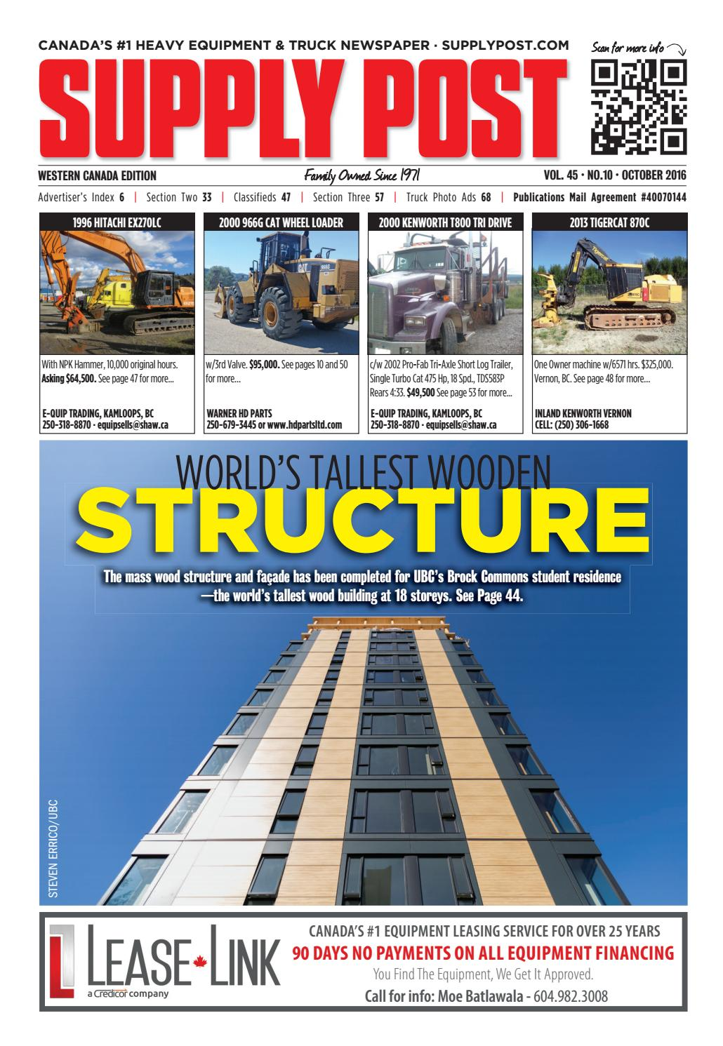 Supply Post West October 2016 by Supply Post Newspaper - issuu