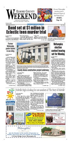 Sept 17, 2016 Wetumpka Herald by Tallapoosa Publishers - issuu