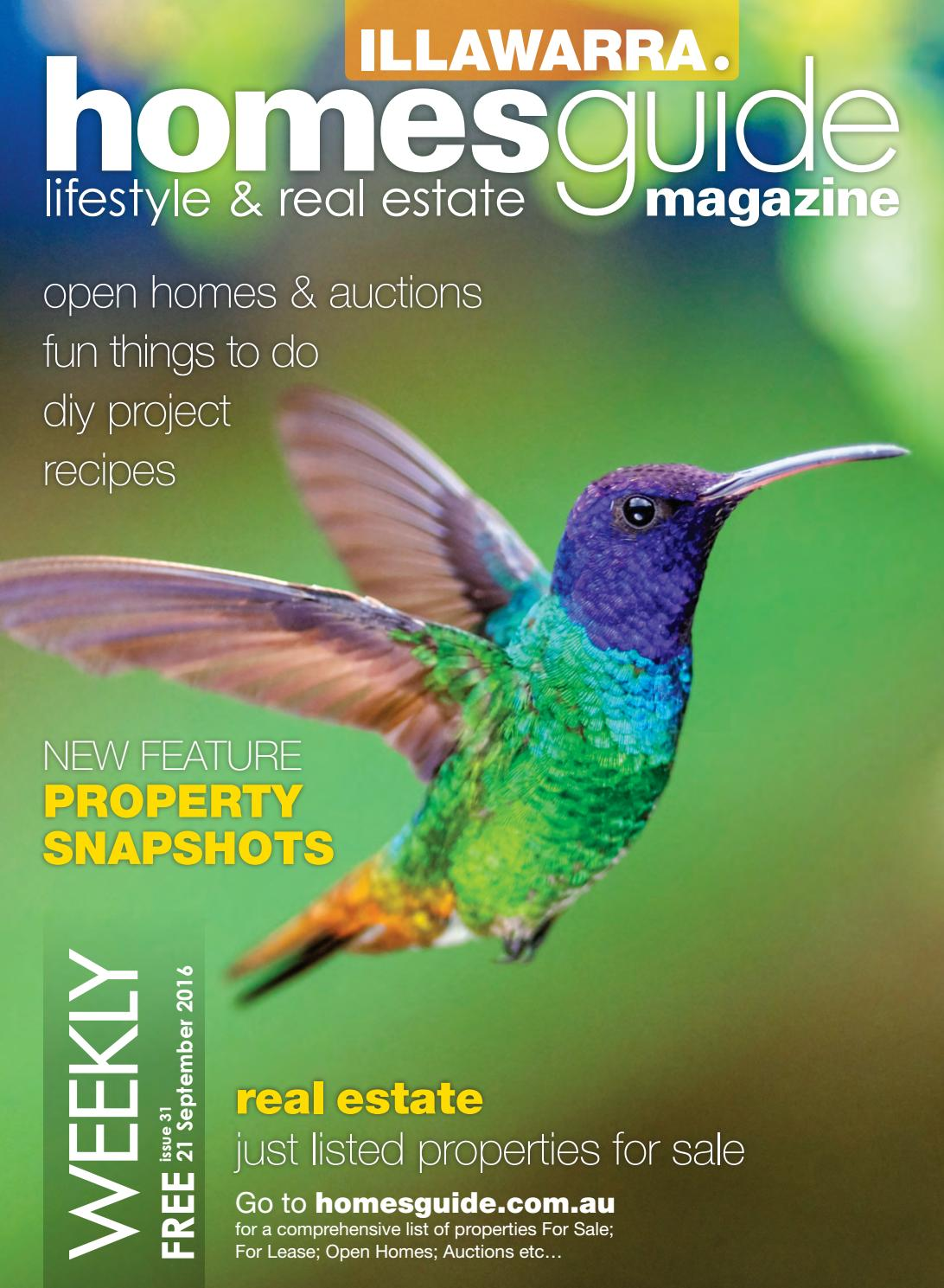 Illawarra Homesguide Magazine Issue 31 By Homesguide Issuu
