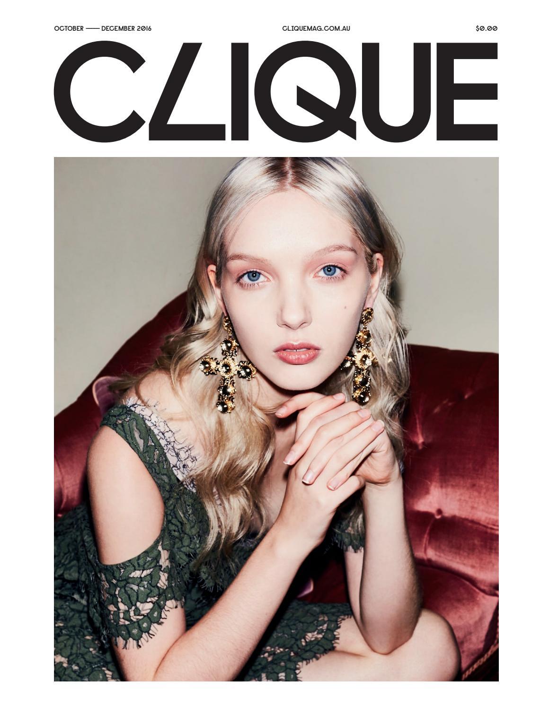 CLIQUE Mag - Spring Edition 2016 by Clique Mag - issuu
