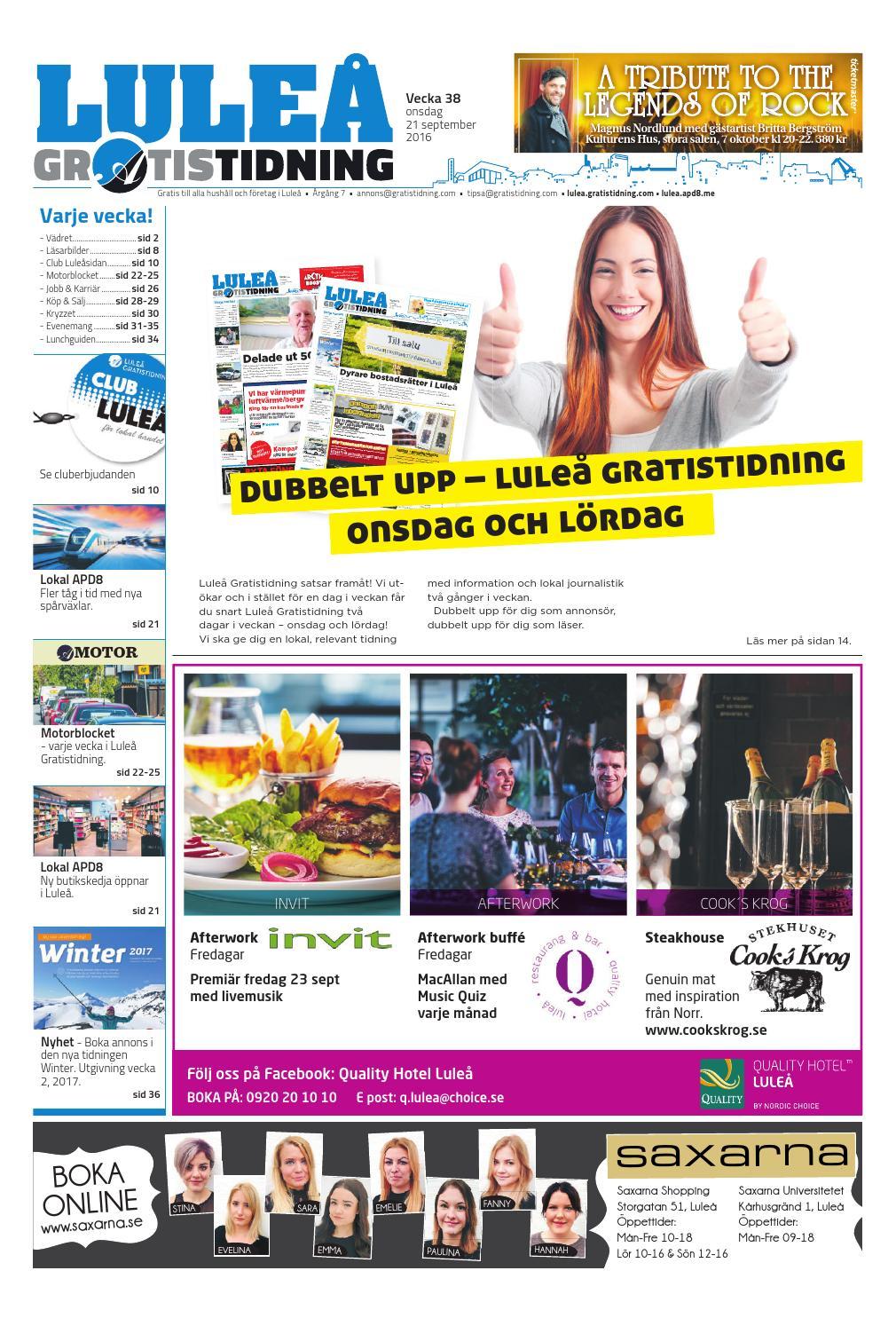 huge discount adf39 b0fef Luleå Gratistidning med Team Sportia bilaga by Svenska Civildatalogerna AB  - issuu