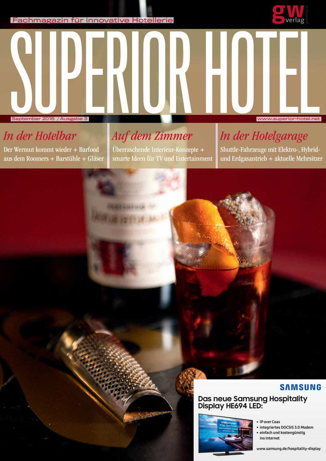 Superior Hotel 3/2016 by GW VERLAG - issuu