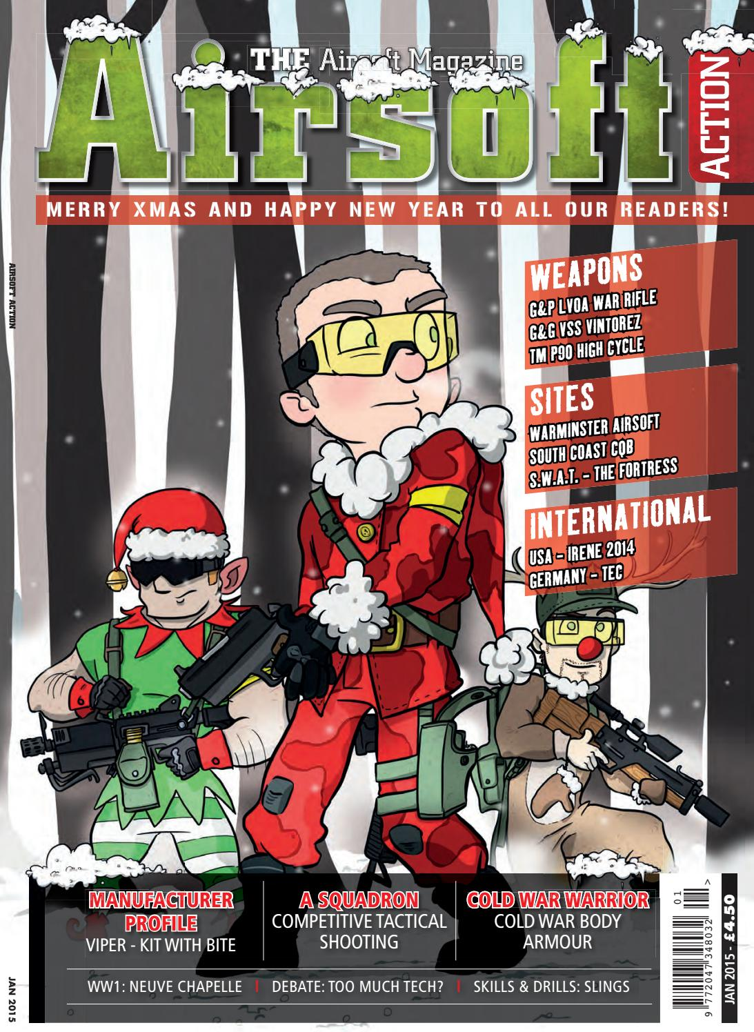 eaacefbd269 Issue 44 - January 2015 by Airsoft Action Magazine - issuu
