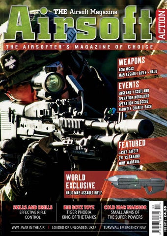 0dfbd62191 Issue 45 - February 2015 by Airsoft Action Magazine - issuu