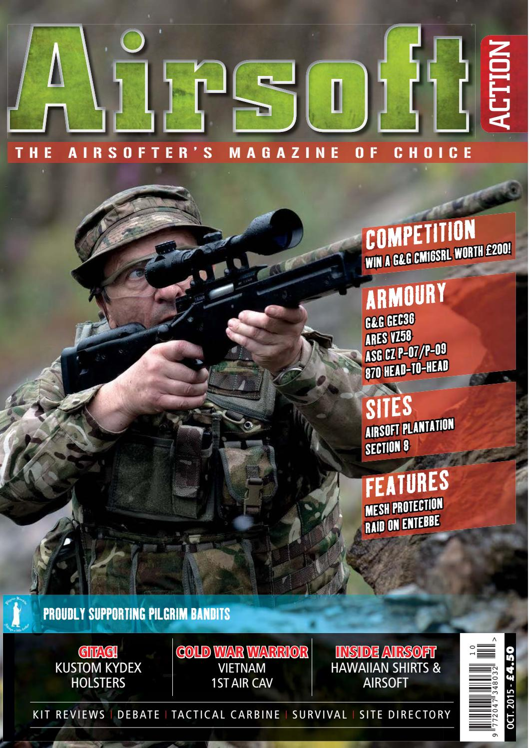 bb9f98f66ff Issue 53 - October 2015 by Airsoft Action Magazine - issuu