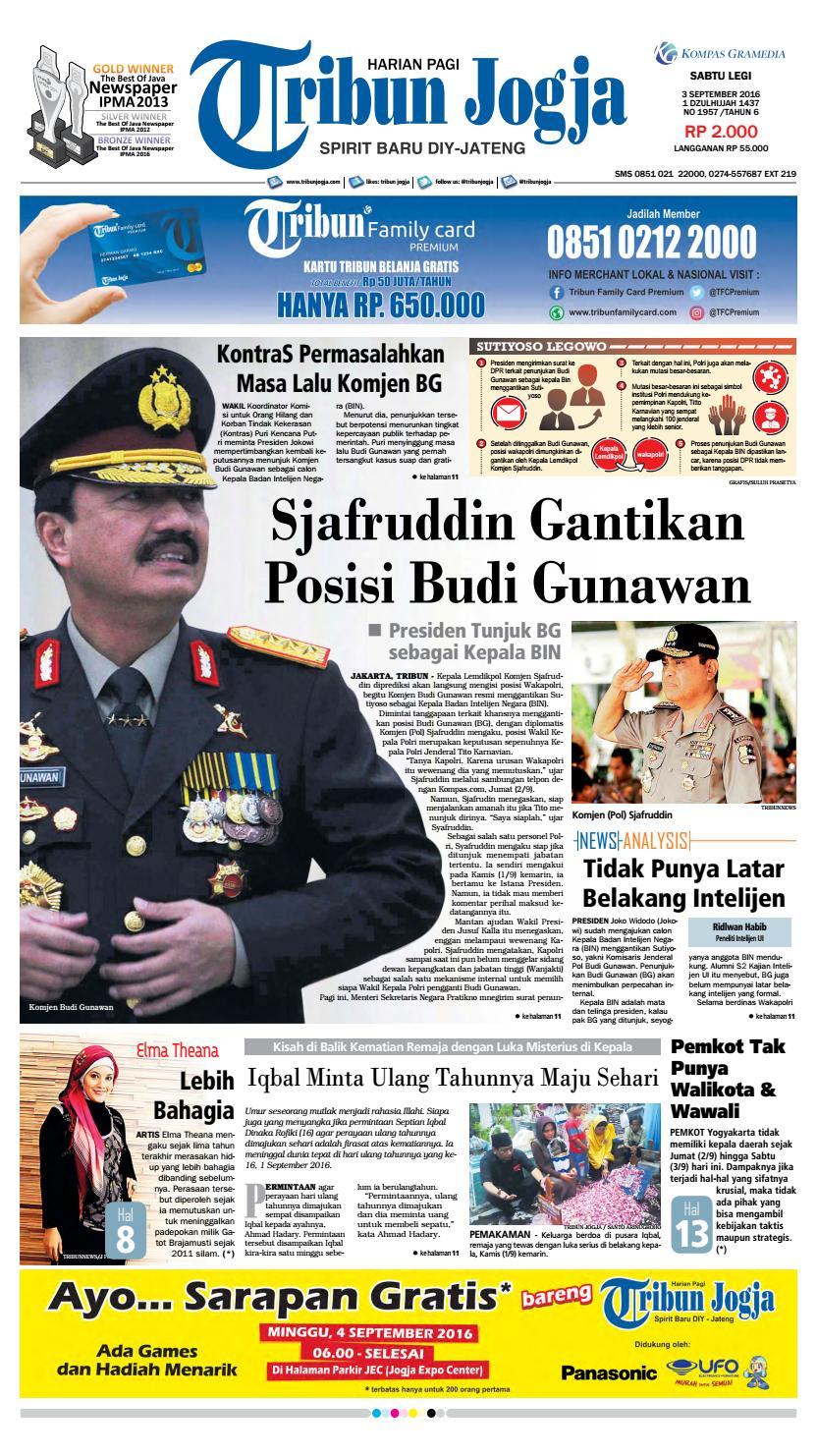 Tribunjogja 03 09 2016 By Tribun Jogja Issuu Snack Gayem Pangsit Bantal Imut Bdg
