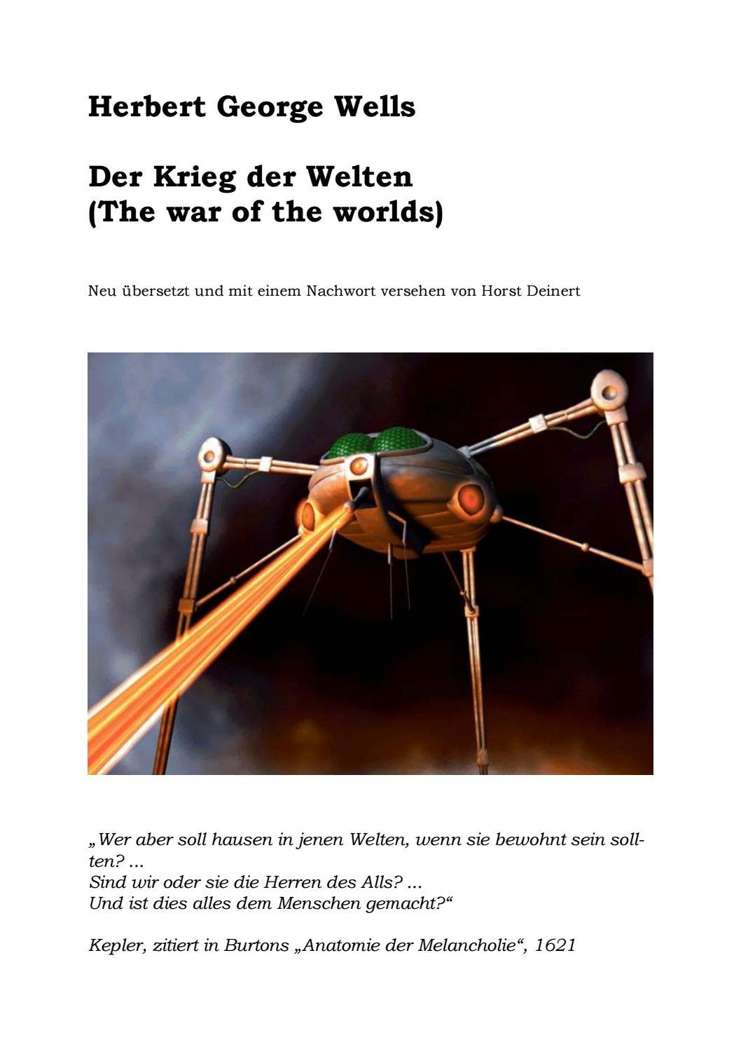 H. G. Wells - Krieg der Welten by stsy - issuu