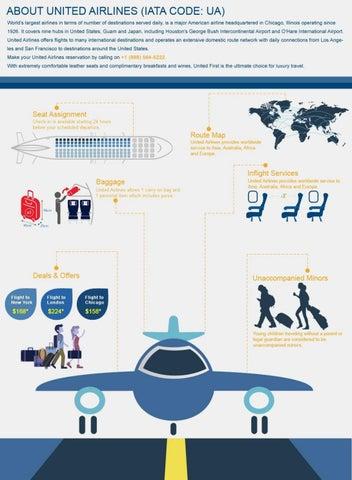 United Airlines (IATA Code: UA) - The World's Largest