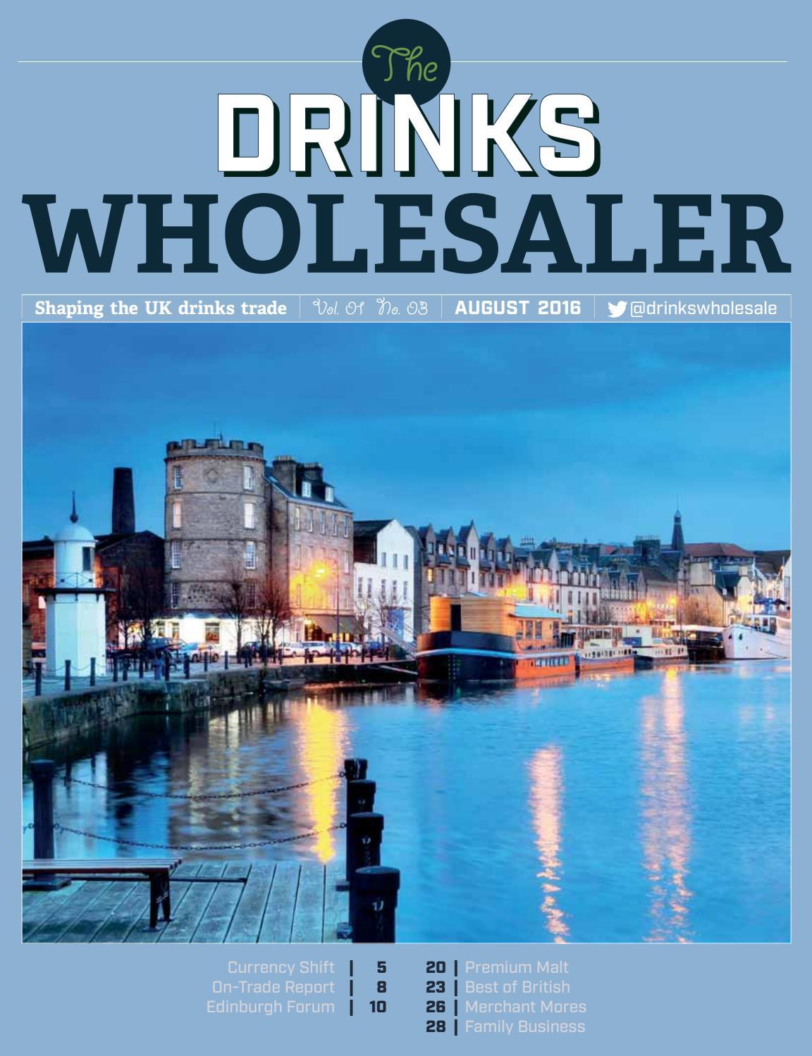 The Drinks Wholesaler August 2016 by Agile Media Ltd - issuu