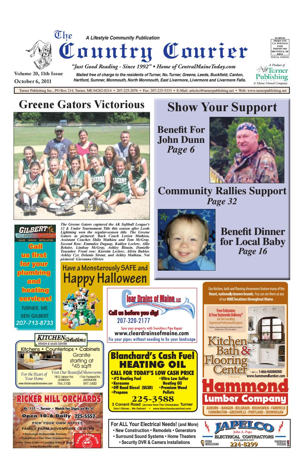 Country Courier October 2011