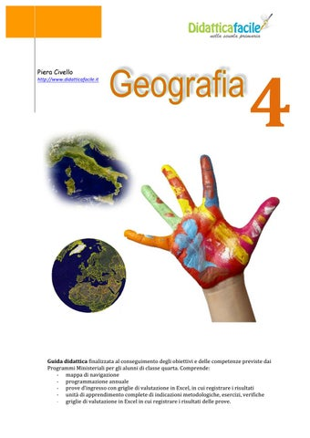 Vetrina Geografia 4 By Piera Civello Issuu