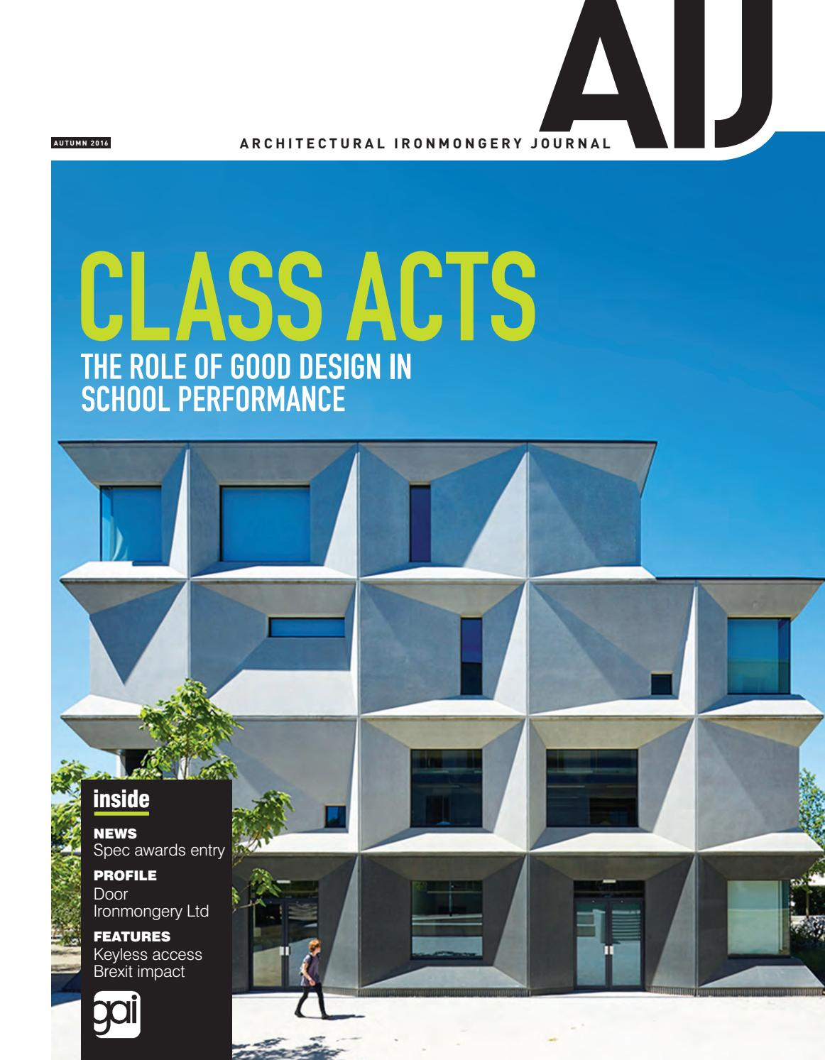 Aij autumn 2016 by Guild of Architectural Ironmongers - issuu