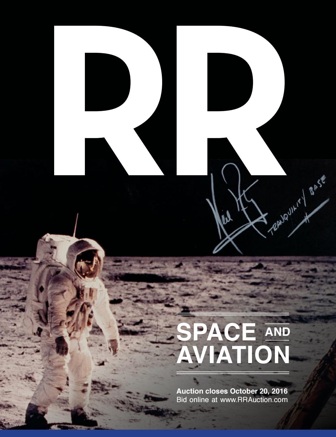 RR Auction April 2016 Space u0026