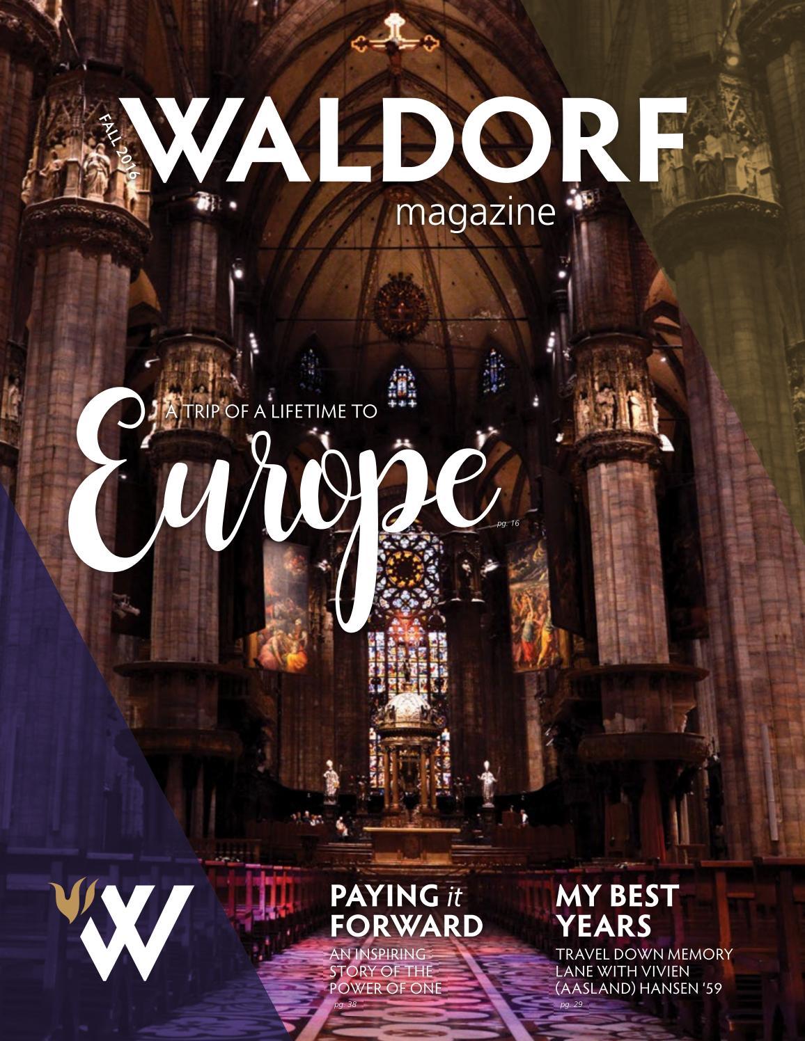 Waldorf Magazine: Fall 2016 By Waldorf University   Issuu