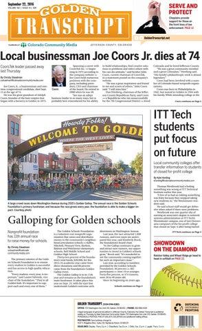 Golden Transcript 0922 By Colorado Community Media Issuu
