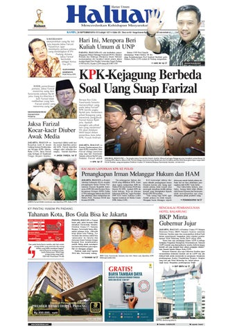 Haluan 22 September 2016 by Harian Haluan - issuu dd10d1a35c