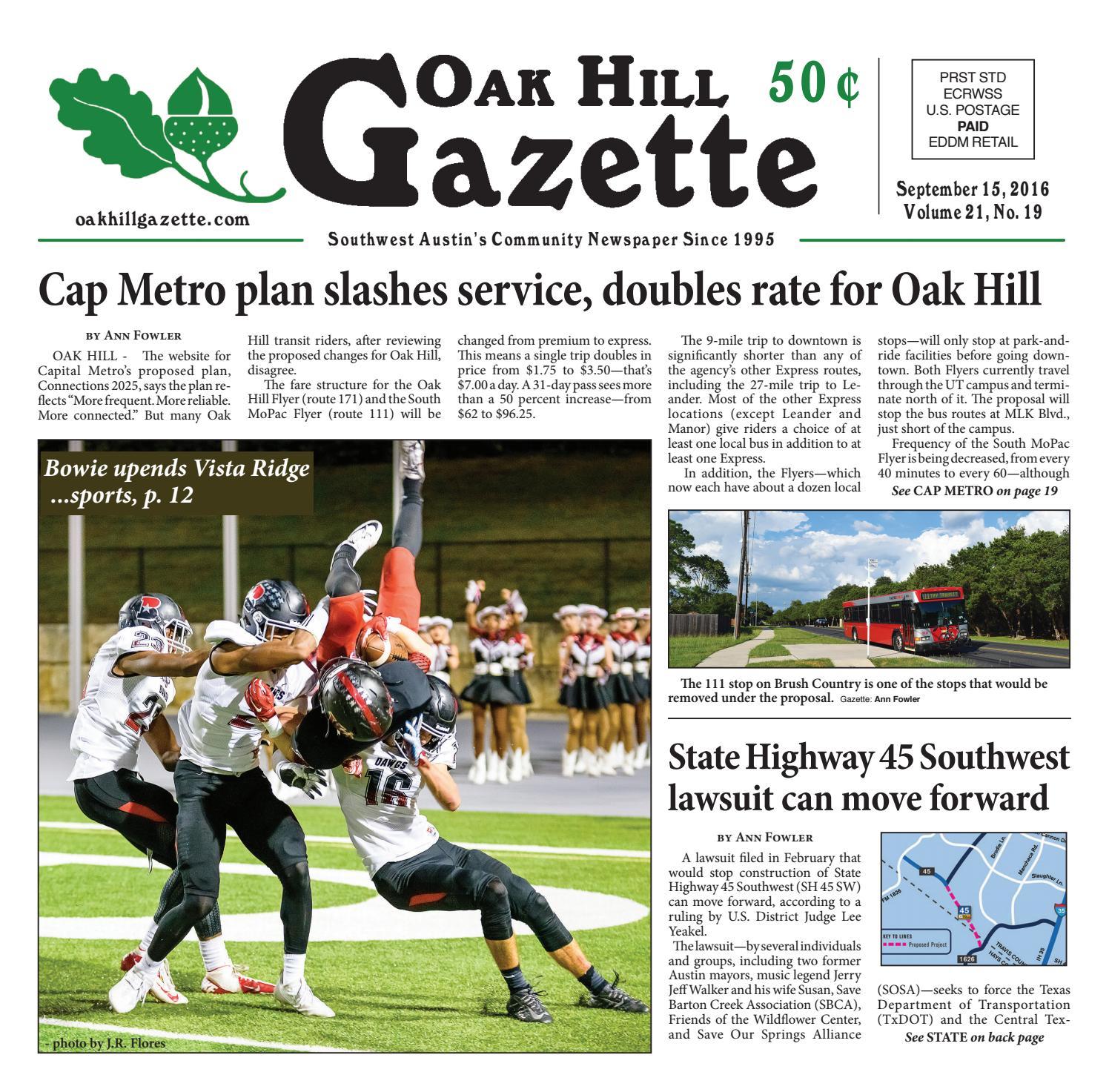 september 15th by oak hill gazette - issuu