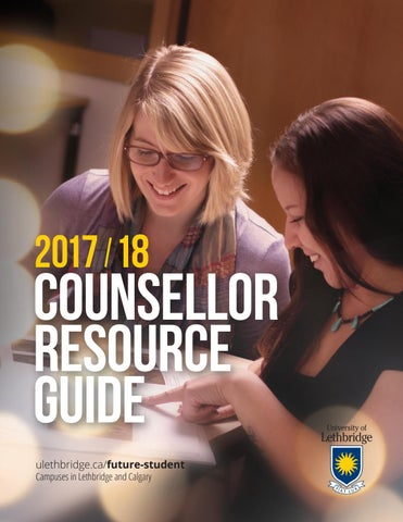 Counsellor Resource Guide 2017-2018